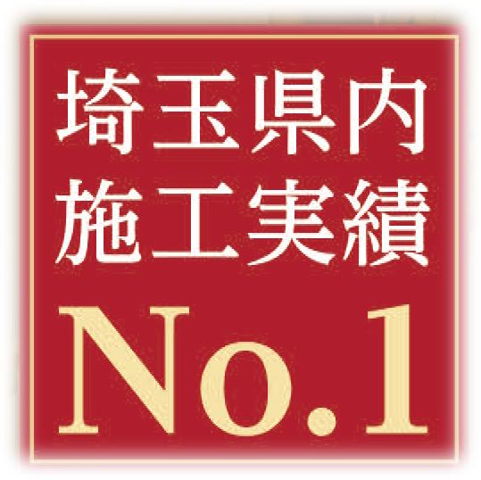 実績No.1